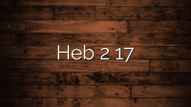 Hebrews 2:17