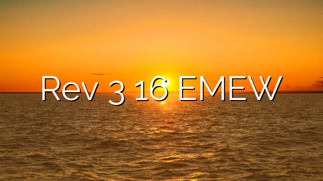 Rev 3 16 EMEW