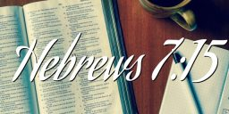Hebrews 7:15