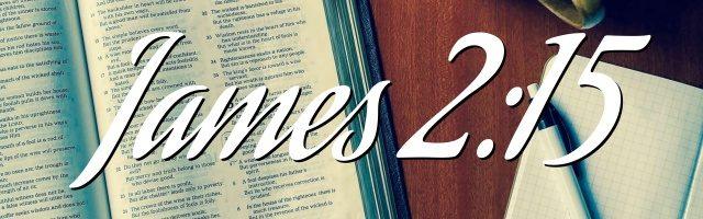James 2:15