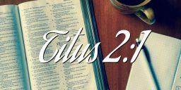 Titus 2:1