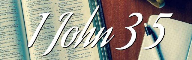 1 John 3 5